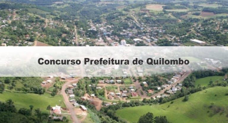 Concurso Prefeitura de Quilombo SC: Inscrições Encerradas