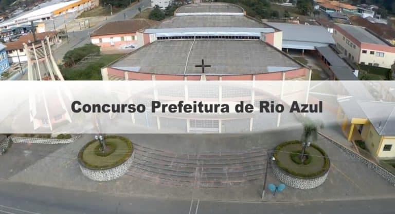 Concurso Prefeitura de Rio Azul PR: Inscrições Abertas