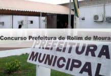 Concurso Prefeitura de Rolim de Moura
