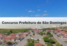Concurso Prefeitura de São Domingos GO