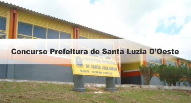 Concurso Prefeitura de Santa Luzia D'Oeste RO