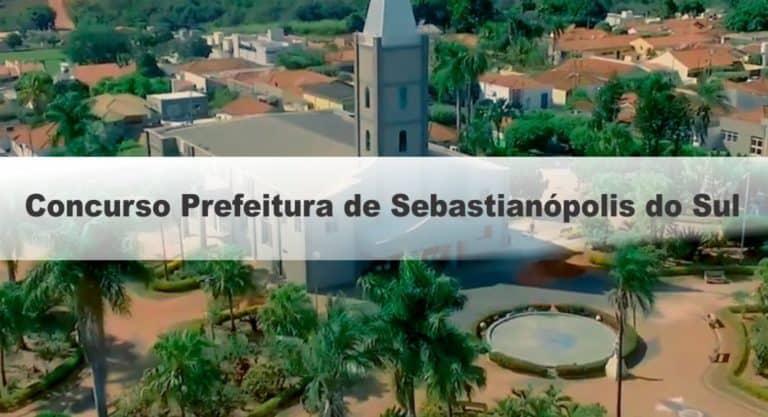Concurso Prefeitura de Sebastianópolis do Sul SP: Inscrições Abertas