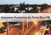 Concurso Prefeitura de Terra Rica PR