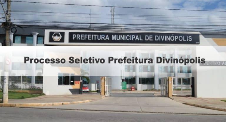 Processo Seletivo Prefeitura Divinópolis MG: Inscrições Abertas