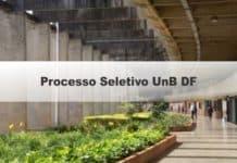 Processo seletivo UnB DF