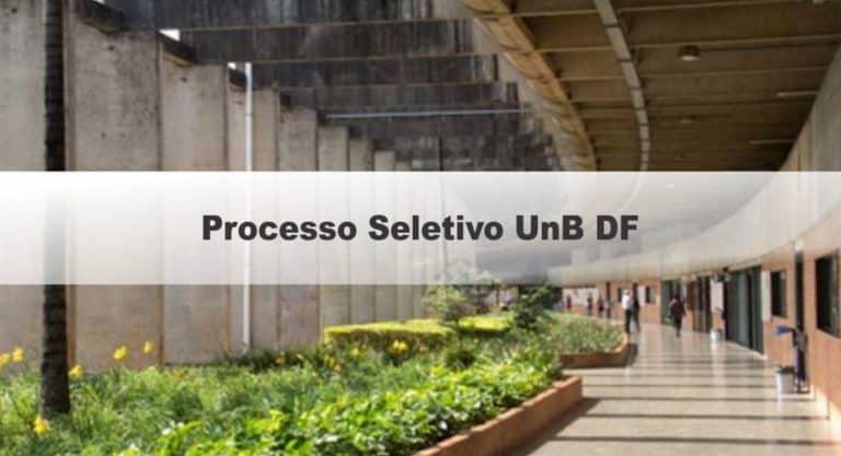 Processo seletivo UnB DF 2020 abre vaga para Professor Substituto