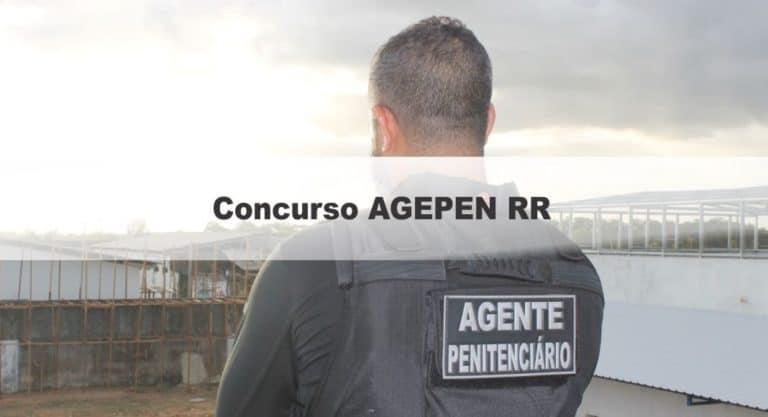 Concurso AGEPEN RR 2020: Inscrições encerradas