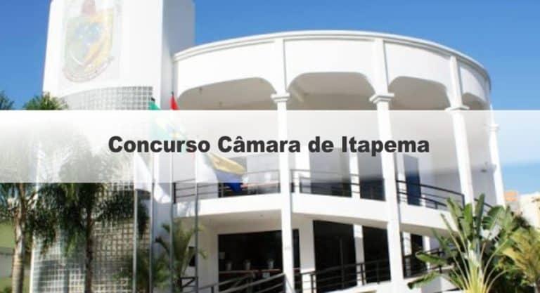 Concurso Câmara de Itapema SC: Inscrições encerradas