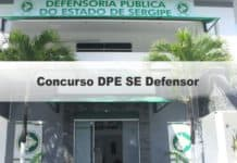 Concurso DPE SE Defensor