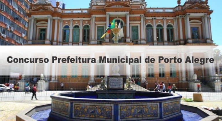 Concurso Prefeitura Municipal de Porto Alegre/RS: Provas em agosto