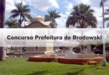 Concurso Prefeitura de Brodowski SP