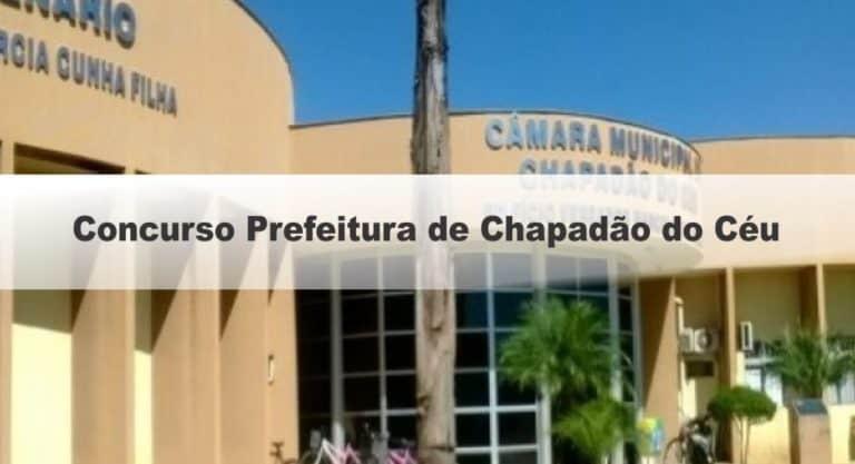 Concurso Prefeitura de Chapadão do Céu GO: Inscrições até hoje 21/09/20!