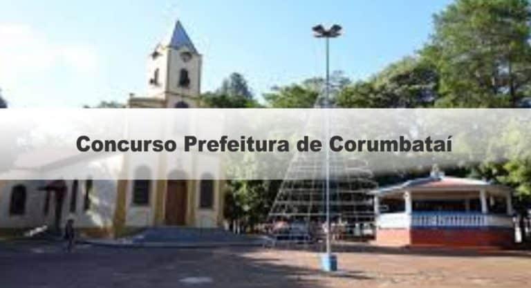 Processo Seletivo Prefeitura de Corumbataí SP – (Cadastro reserva): Provas dia 10/01/21