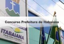 Concurso Prefeitura de Itabaiana SE