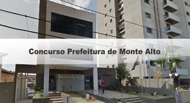 Concurso Prefeitura de Monte Alto SP 2020: Provas suspensas