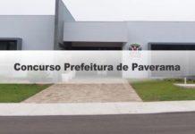 Concurso Prefeitura de Paverama RS