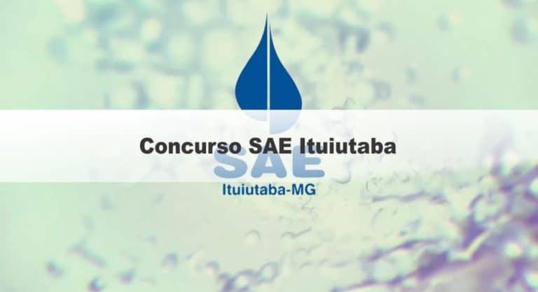 Concurso SAE Ituiutaba: Inscrições encerradas