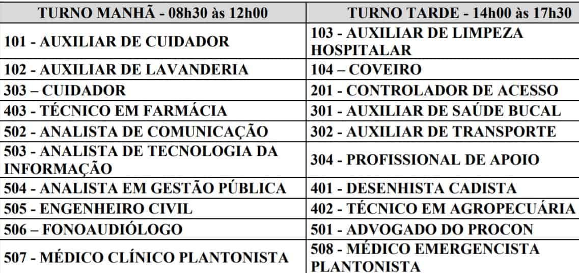 vai vendo - Processo Seletivo Prefeitura de Campo Belo MG: Provas previstas para o dia 28/03/21