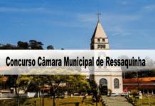 Concurso Câmara Municipal de Ressaquinha - MG