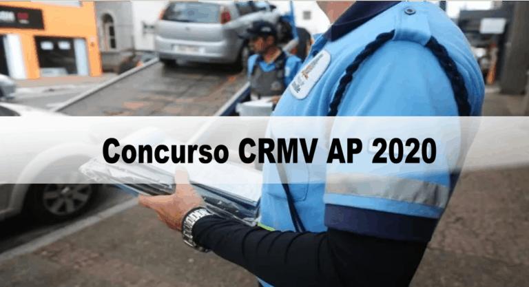 Concurso CRMV AP 2020: Inscrições encerradas. Provas suspensas