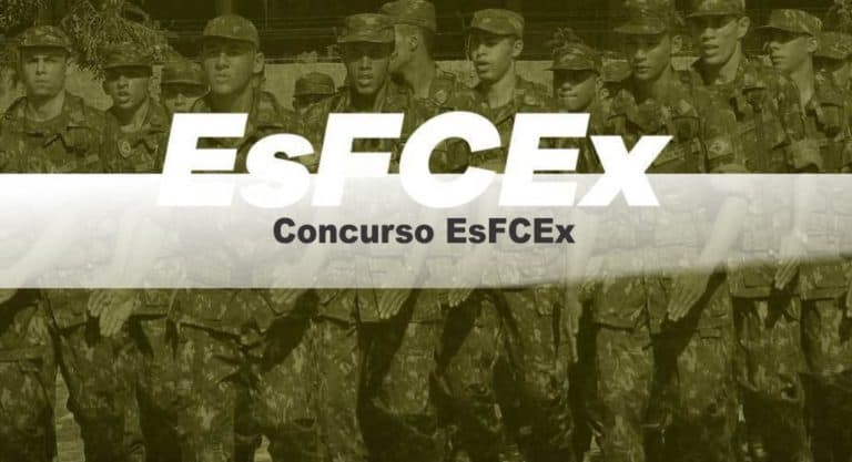 Concurso EsFCEx Capelães 2020