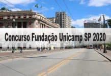 Concurso Fundação Unicamp SP 2020