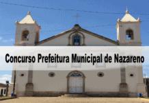Concurso Prefeitura Municipal de Nazareno MG