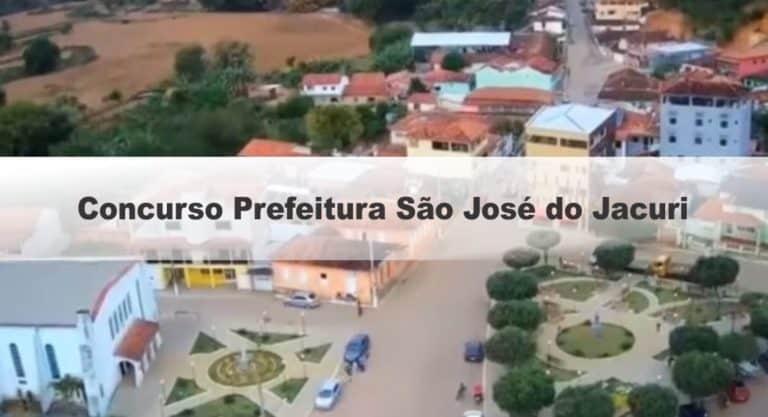 Concurso Prefeitura São José do Jacuri MG: Saiu o Edital!