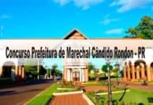 Concurso Prefeitura de Marechal Cândido Rondon - PR