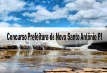 Concurso Prefeitura de Novo Santo Antônio PI