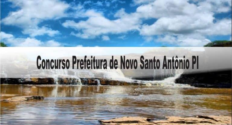 Concurso Prefeitura de Novo Santo Antônio PI: Provas suspensas