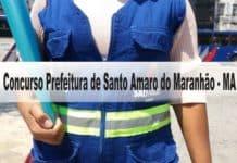 Concurso Prefeitura de Santo Amaro do Maranhão - MA