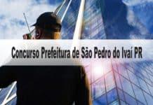 Concurso Prefeitura de São Pedro do Ivaí PR