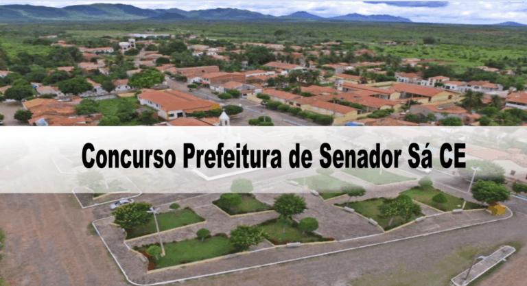 Concurso Prefeitura de Senador Sá CE: Inscrições encerradas