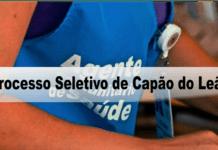 Processo Seletivo Prefeitura de Capão do Leão - RS