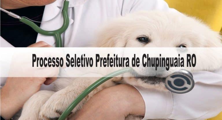 Processo Seletivo Prefeitura de Chupinguaia RO: Inscrições encerradas com 19 vagas para saúde!