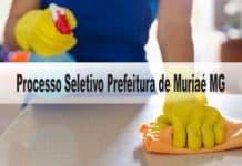 Processo Seletivo Prefeitura de Muriaé MG