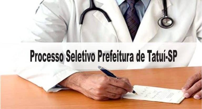 Processo Seletivo Prefeitura de Tatuí-SP: Inscrições encerradas