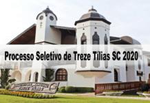 Processo Seletivo Prefeitura de Treze Tílias SC 2020