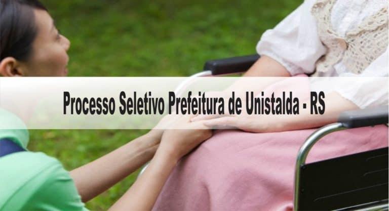 Processo Seletivo Prefeitura de Unistalda – RS: Inscrições encerradas!