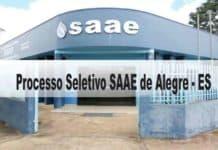 Processo Seletivo SAAE de Alegre - ES