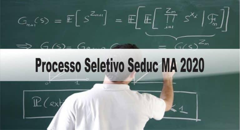 Processo Seletivo Seduc MA 2020: Inscrições encerradas