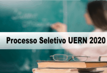 Processo Seletivo UERN 2020
