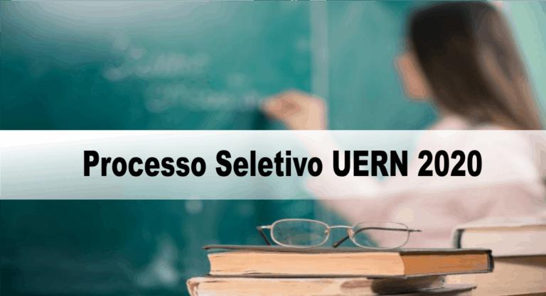 Processo Seletivo UERN 2020: Inscrições encerradas!