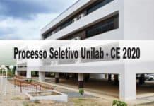 Processo Seletivo Unilab - CE 2020