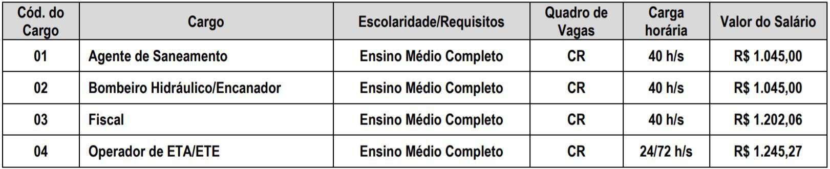 teste do pai 1 41 - Processo Seletivo SAAE de Alegre - ES: Inscrições encerradas