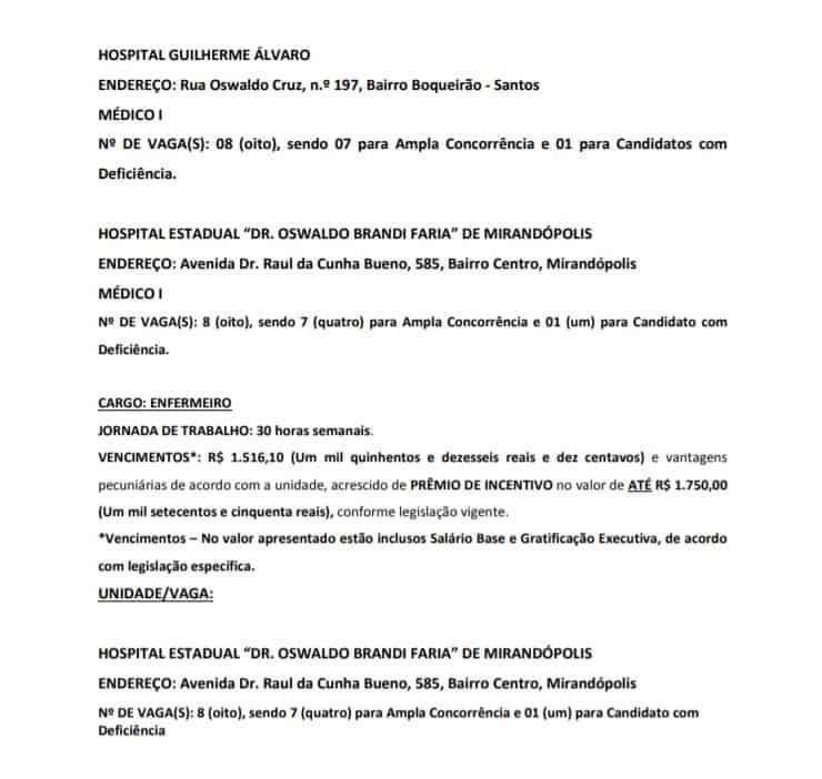 titulos 3 1 - Processo Seletivo CSS-SP 2020: Inscrições encerradas
