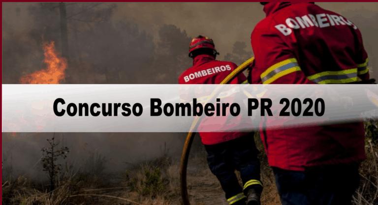 Concurso Bombeiro PR 2020: Provas previstas para o dia 28/03/21