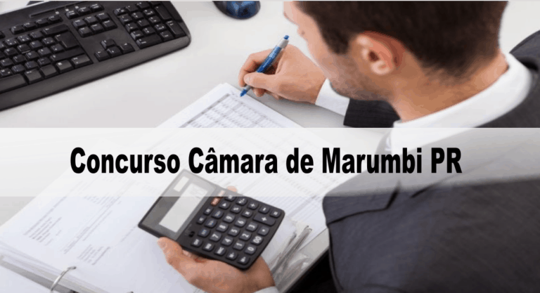 Concurso Câmara de Marumbi PR: Provas dia 04 de outubro de 2020