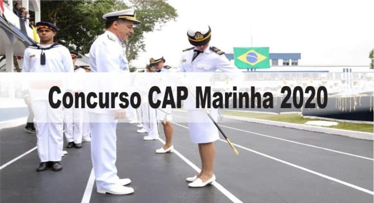 Concurso CAP Marinha Cabo 2020